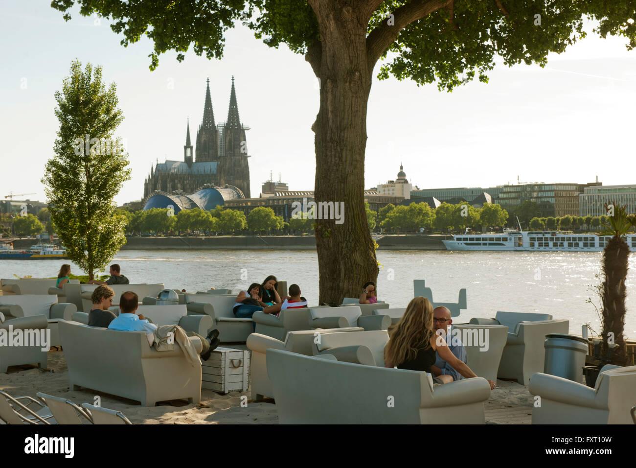 Strandbar Rhein