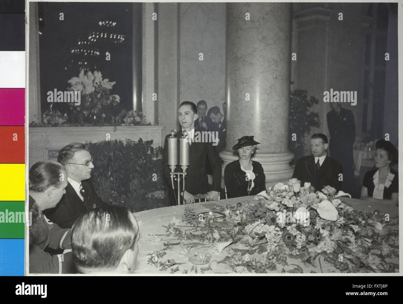 Goebbels in Wien - Stock Image