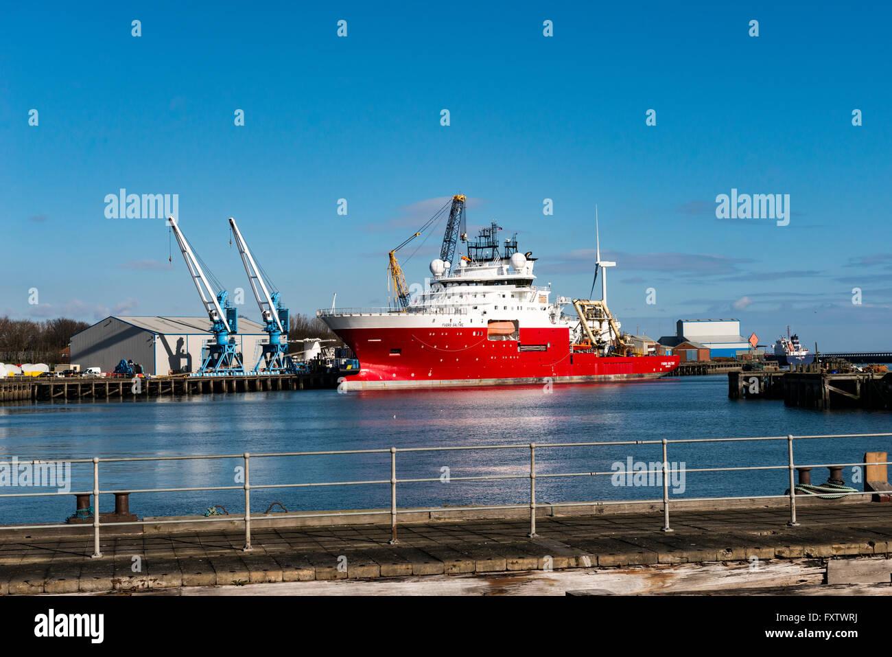 Port of Blyth - Stock Image