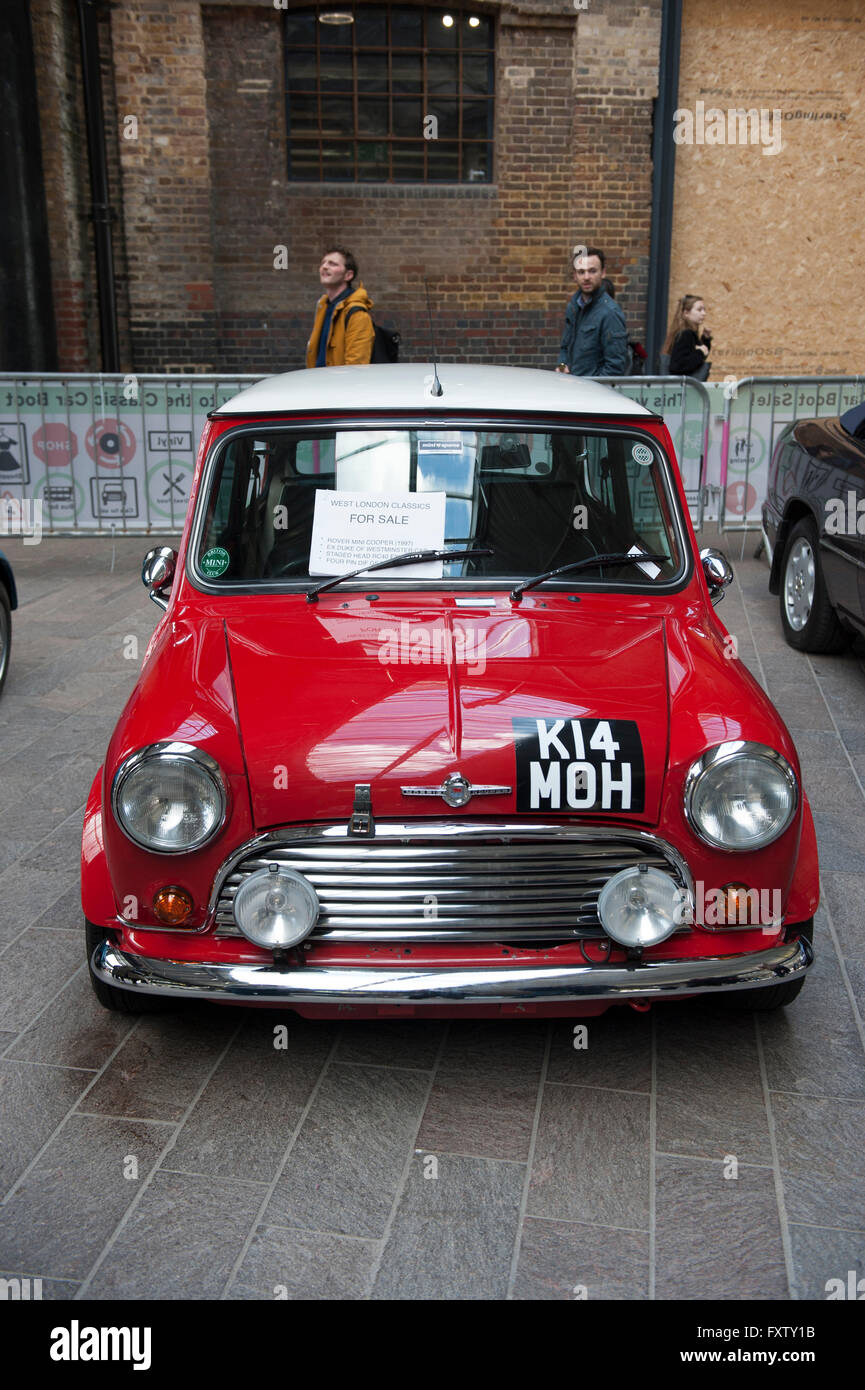 Classic cars for sale at the Classic car boot sale in Cubitt Square ...
