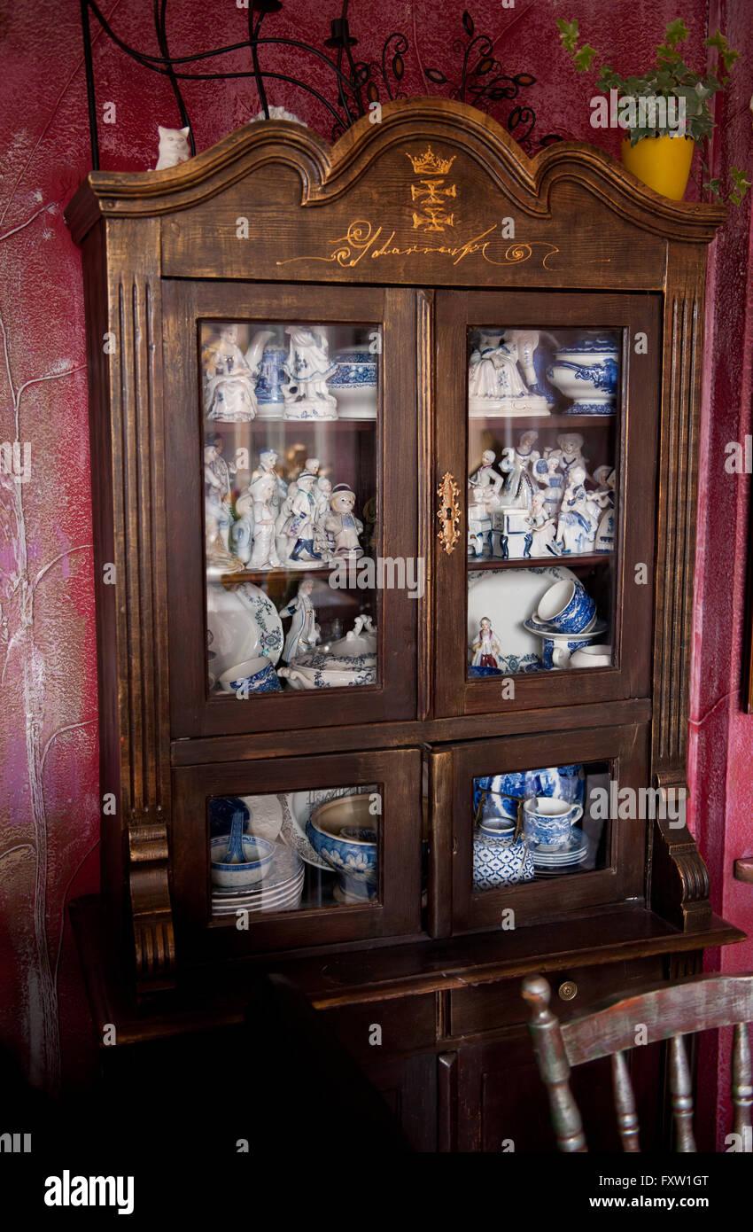 Jacobsen Restaurant Interior In Gdansk Poland Europe Antique