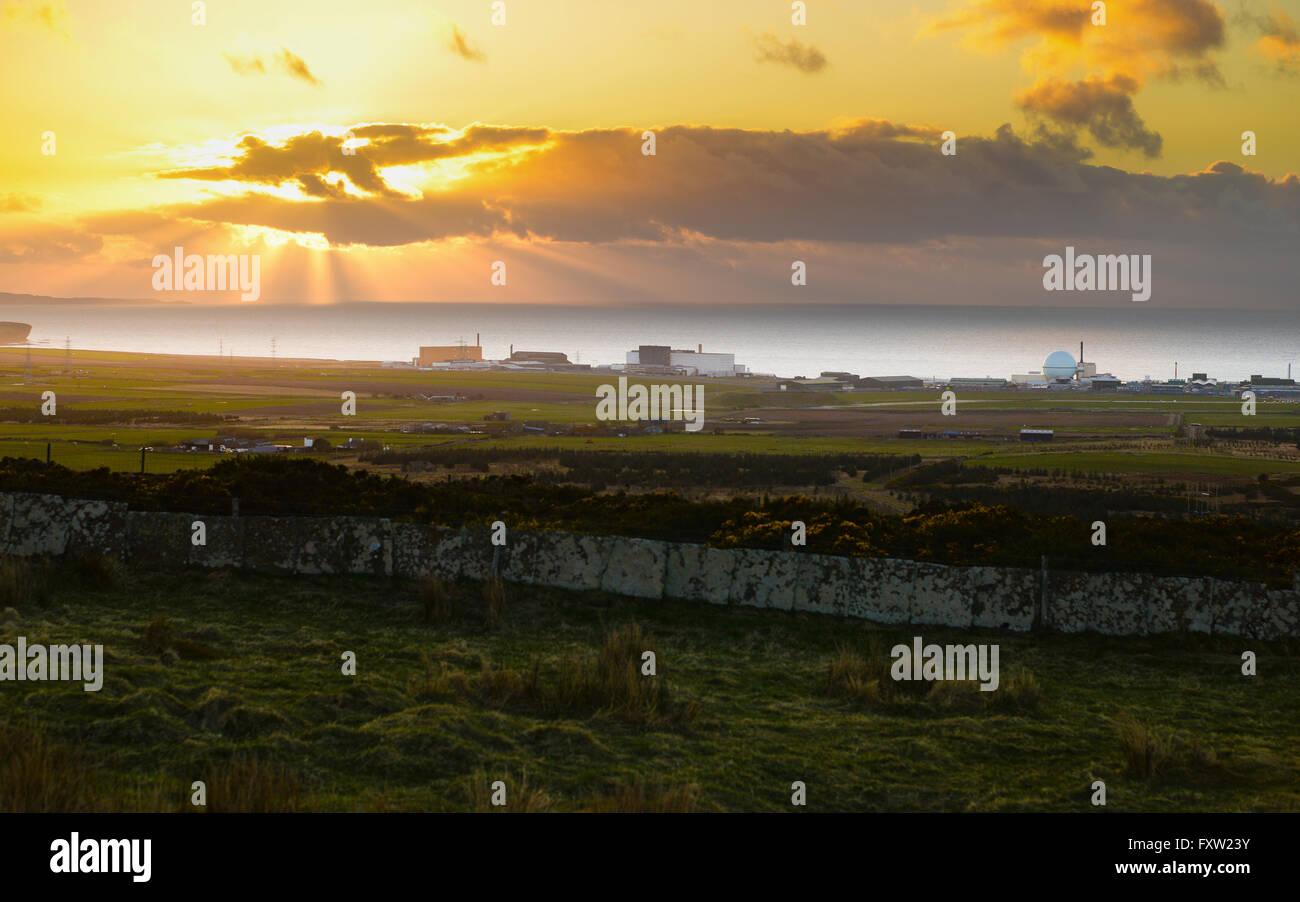 Dounreay nuclear power plant, Caithness, Scotland. - Stock Image