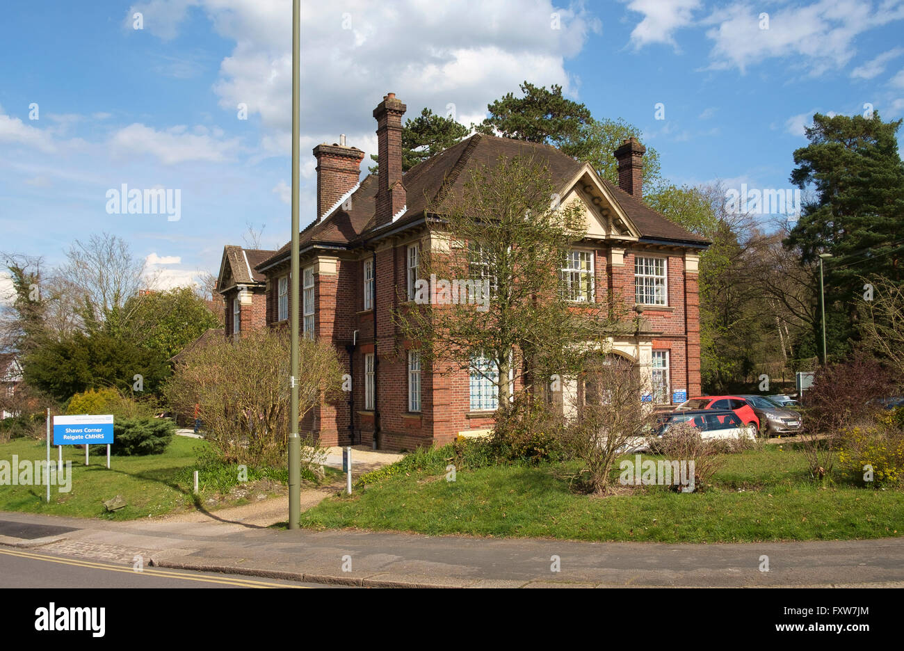 Shaws Corner Reigate CMHRS - Community Mental Health Recovery Service run by Surrey and Borders Partnership NHS - Stock Image