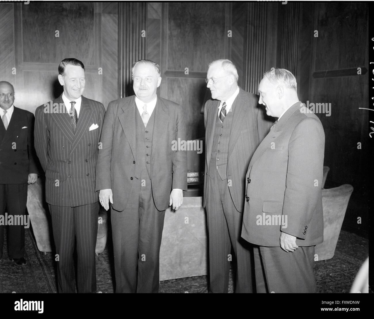 Ankunft der Außenminister der Signatarstaaten ... - Stock Image