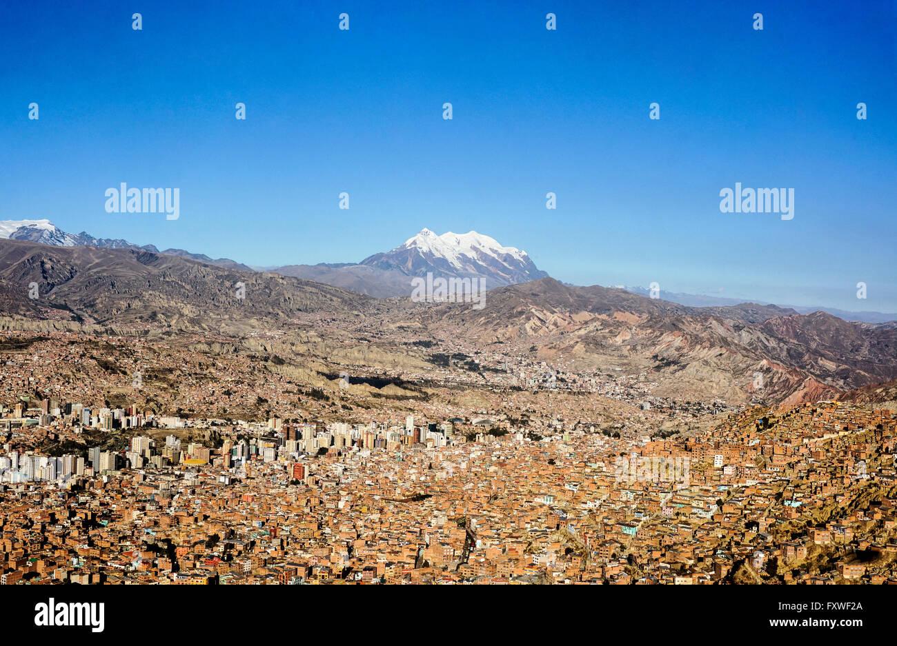 Bolivia -  26/07/2013  -  Bolivia / La Paz / La Paz  -  La Paz, administrative capital    -  Sandrine Huet / Le Stock Photo