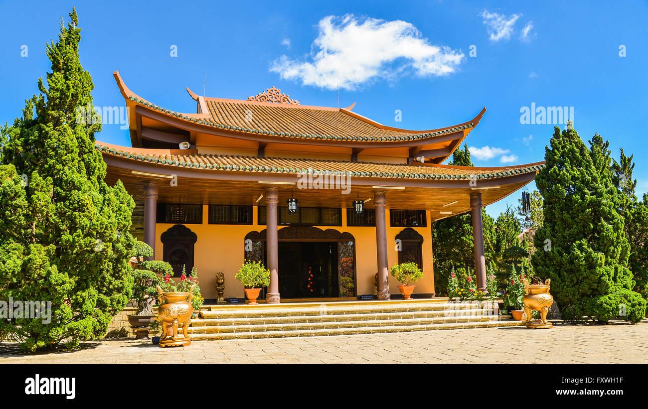Truc Lam Zen Monastery - Da Lat, Vietnam - Stock Image