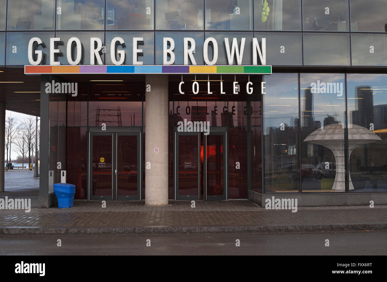 George Brown College campus - Stock Image