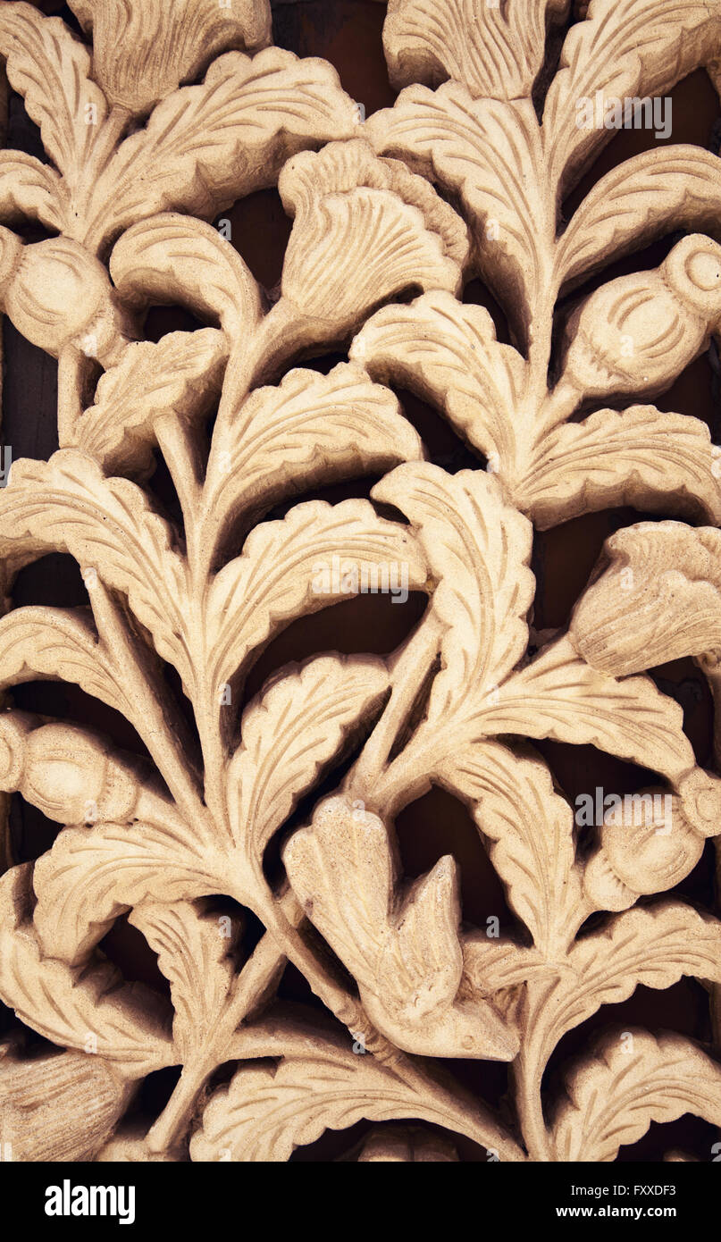 Floral Carving Stock Photos & Floral Carving Stock Images - Alamy