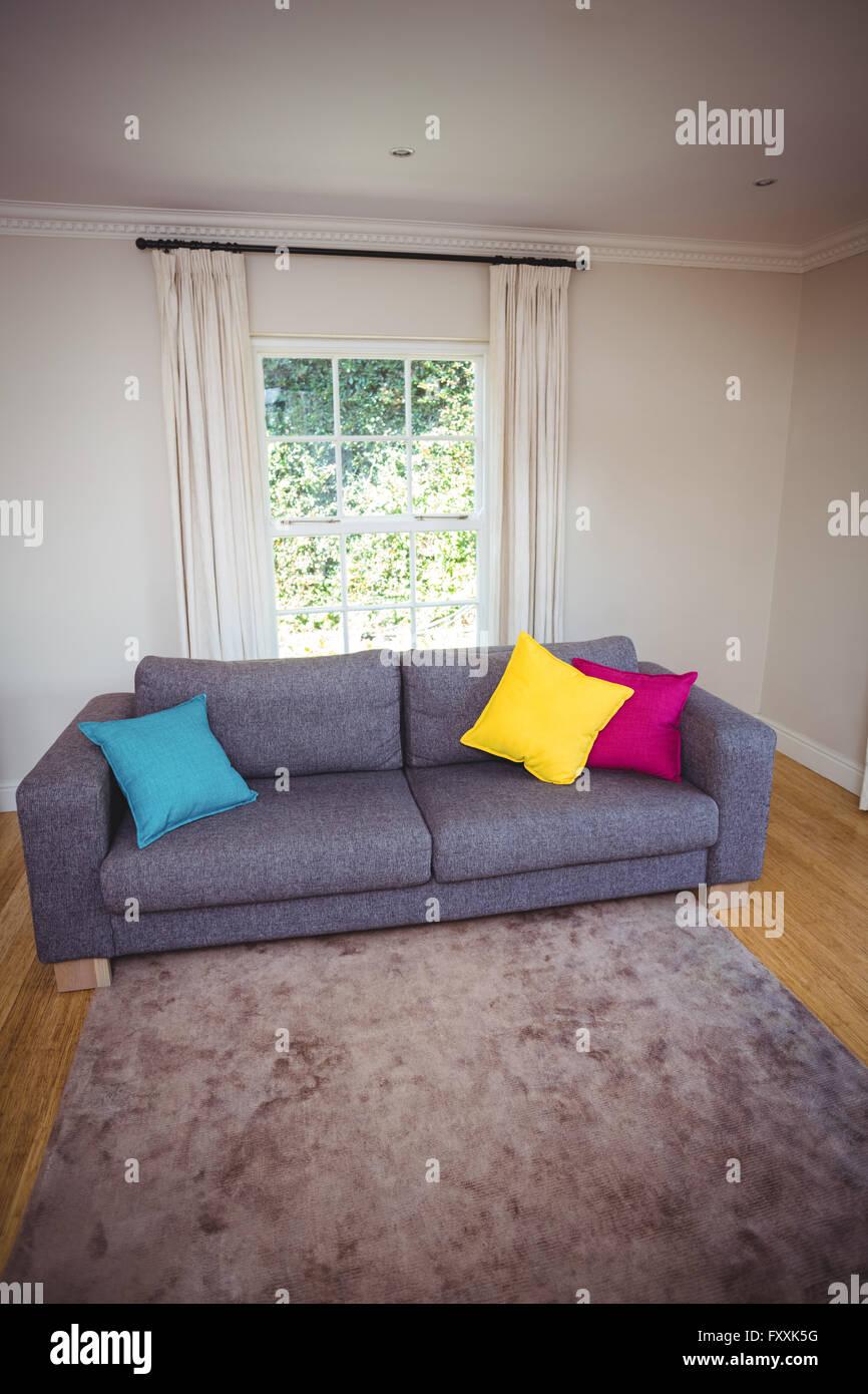 Interior of sitting room - Stock Image