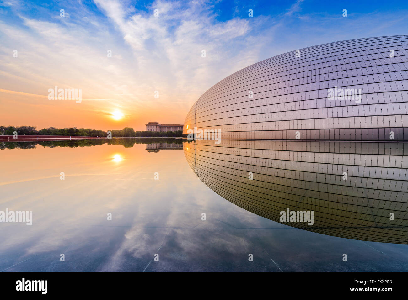National Centre for the Performing Arts in Beijing, China. - Stock Image