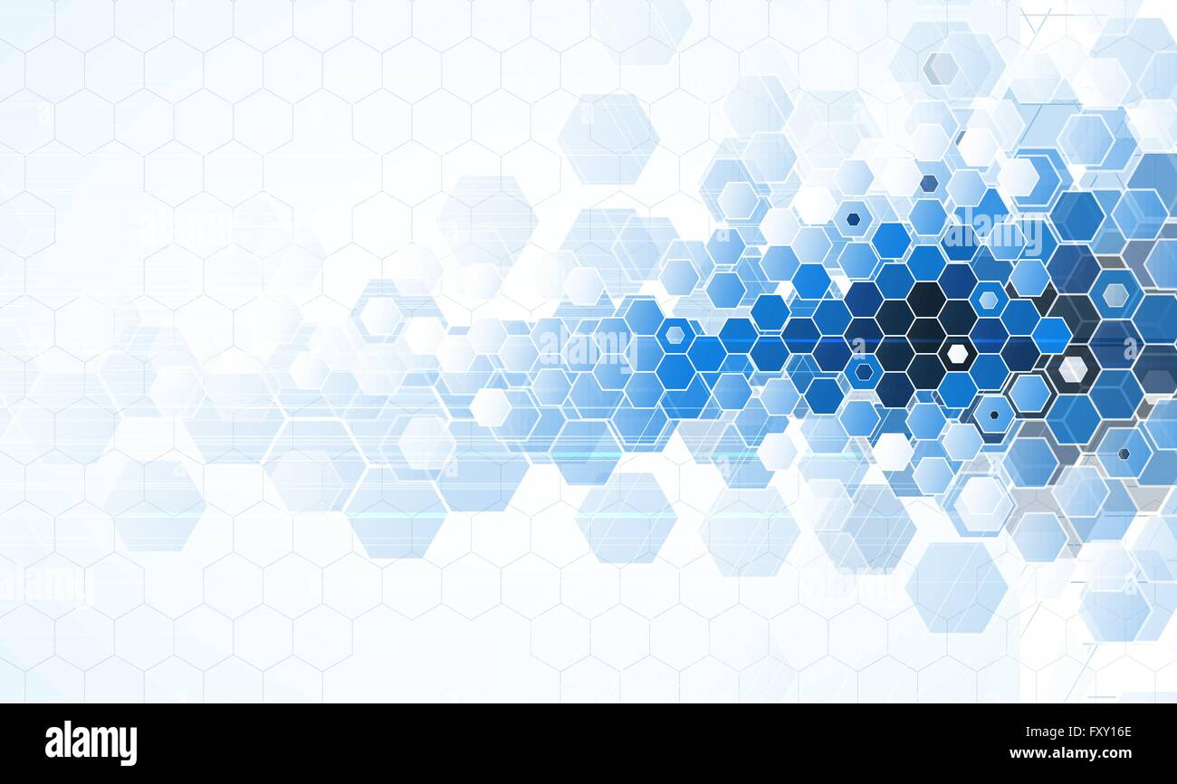 scientific future technology for business presentation