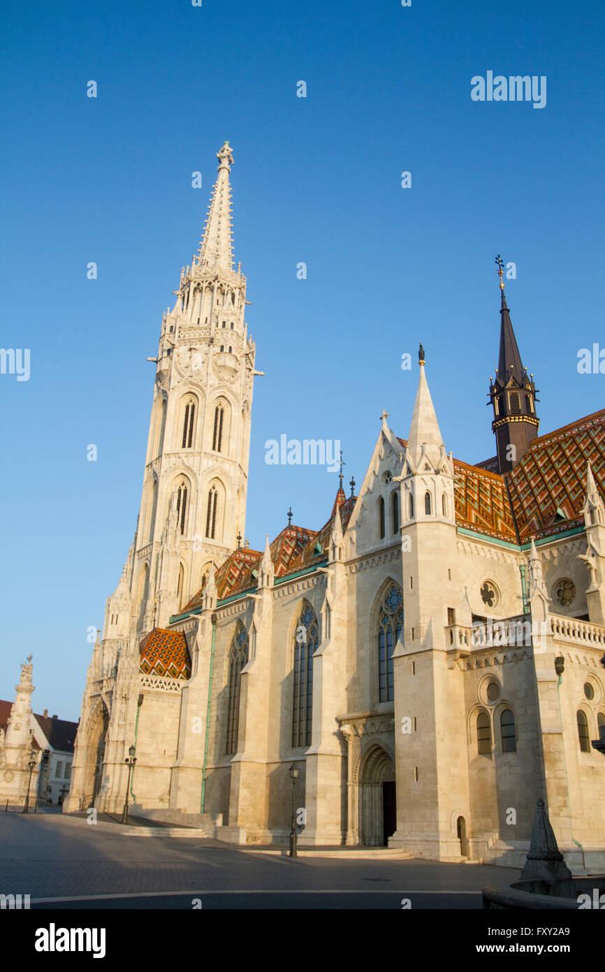 Ficherman's Bastion, Budapest, Hungary. - Stock Image