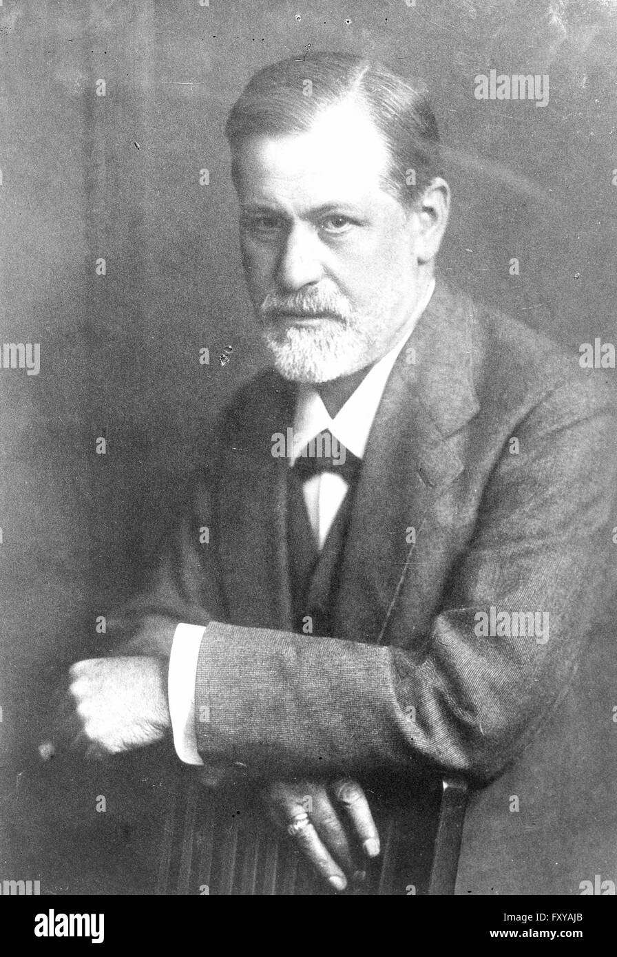 Sigmund Freud - Stock Image