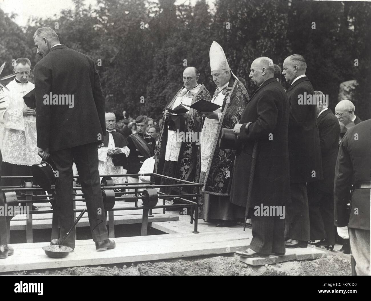 Begräbnis Seipel - Stock Image