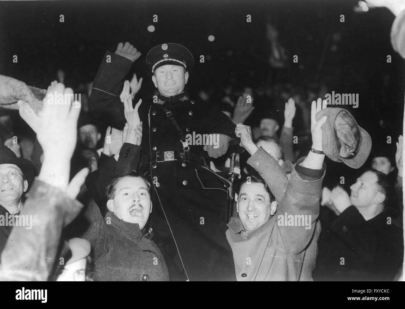 Anschluss - Stock Image