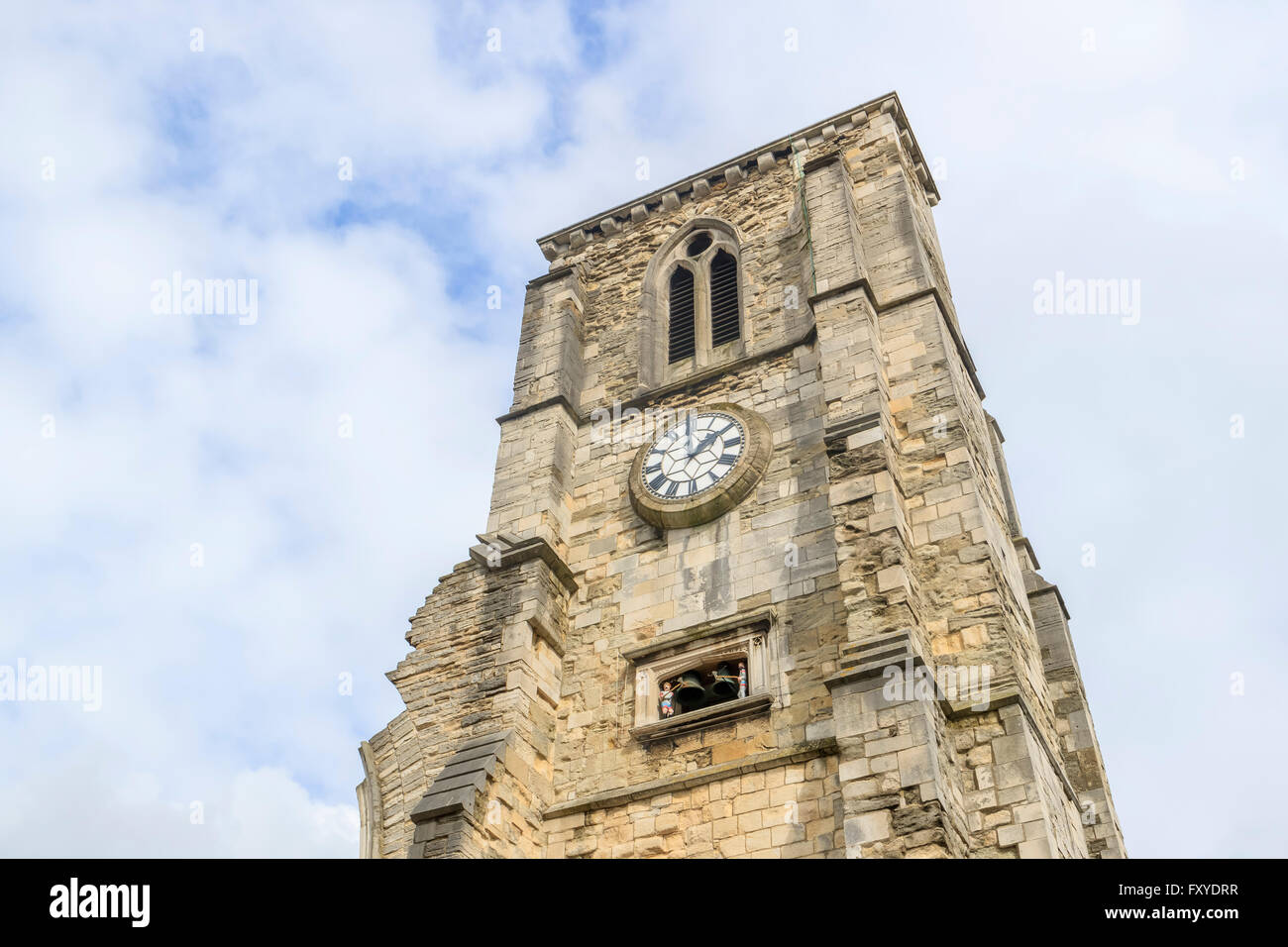 The historical Holyrood Church at Southampton, United Kingdom - Stock Image