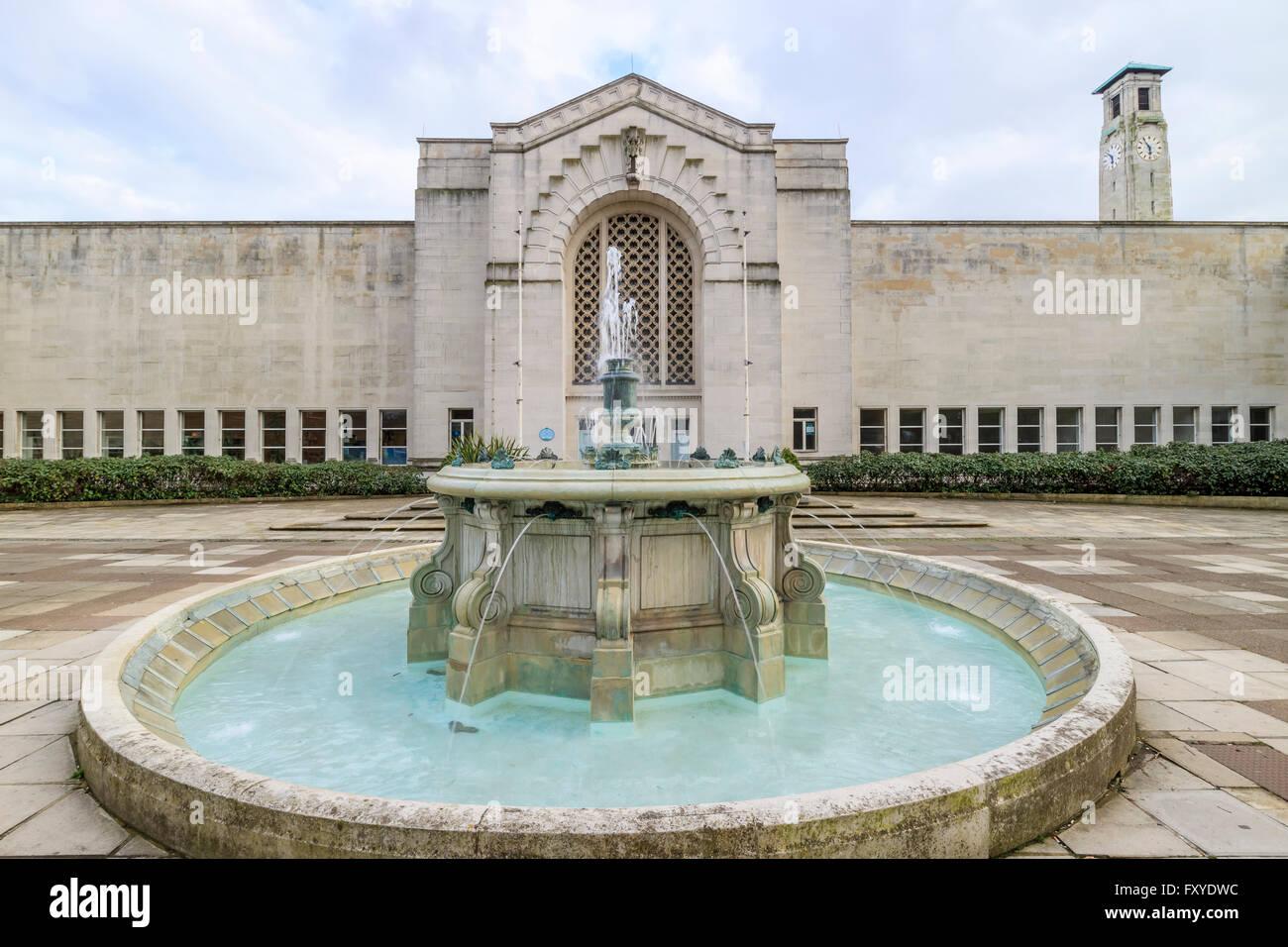 Beautiful Southampton City Art Gallery, United Kingdom - Stock Image