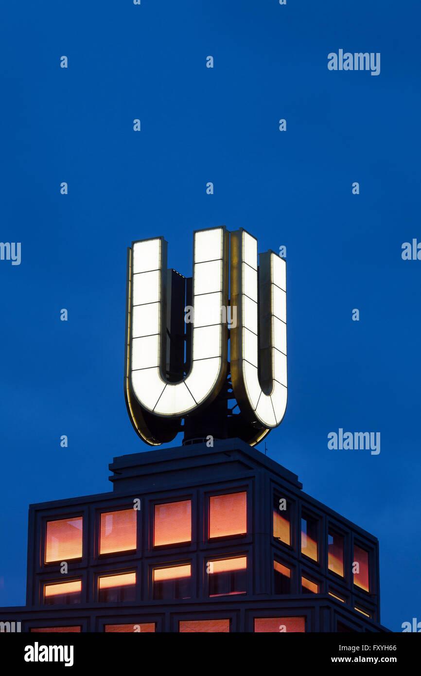 U-Turm Dortmund, Center for Art and Creativity, Dortmund, Ruhr district, North Rhine-Westphalia, Germany - Stock Image