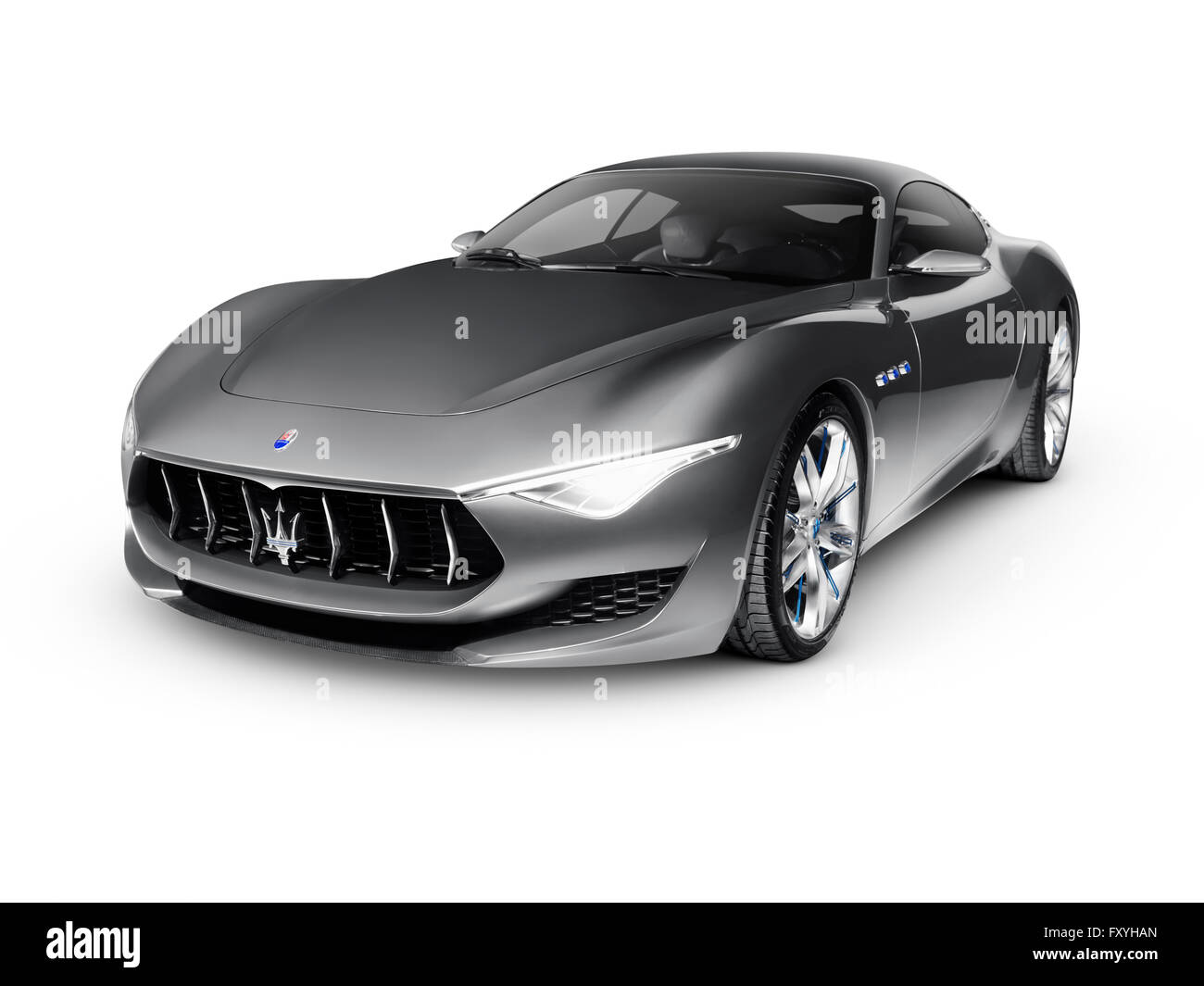 2015 Maserati Alfieri Concept Luxury Car Production In 2016 Gray