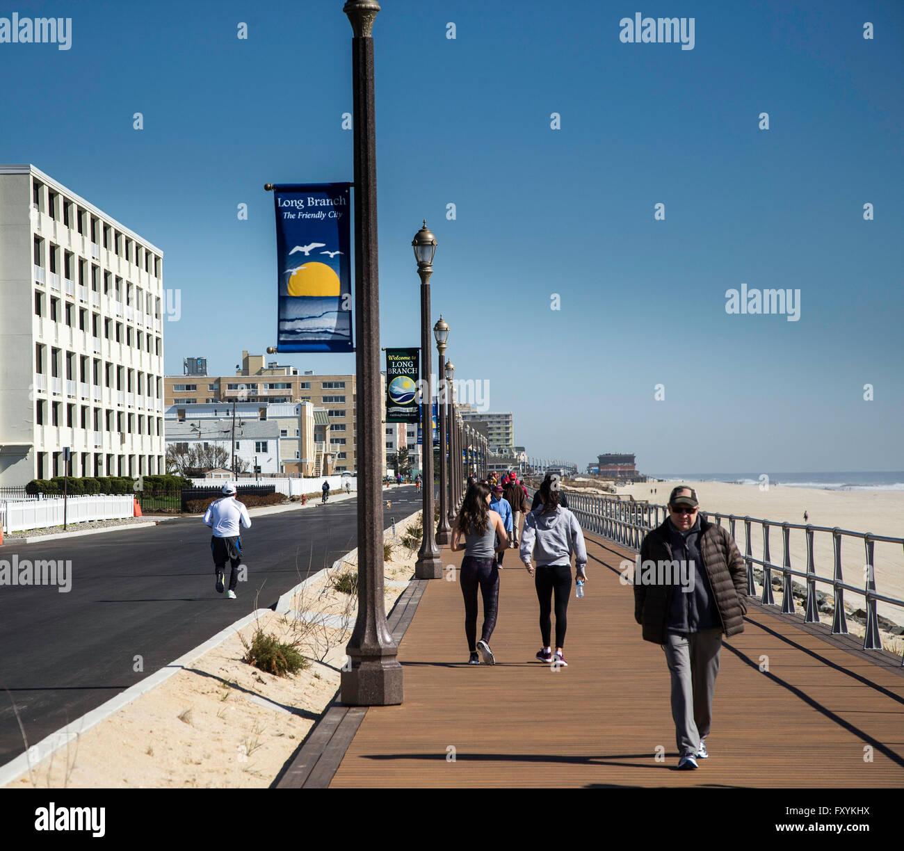 Jersey Shore Boardwalk Stock Photos & Jersey Shore ...