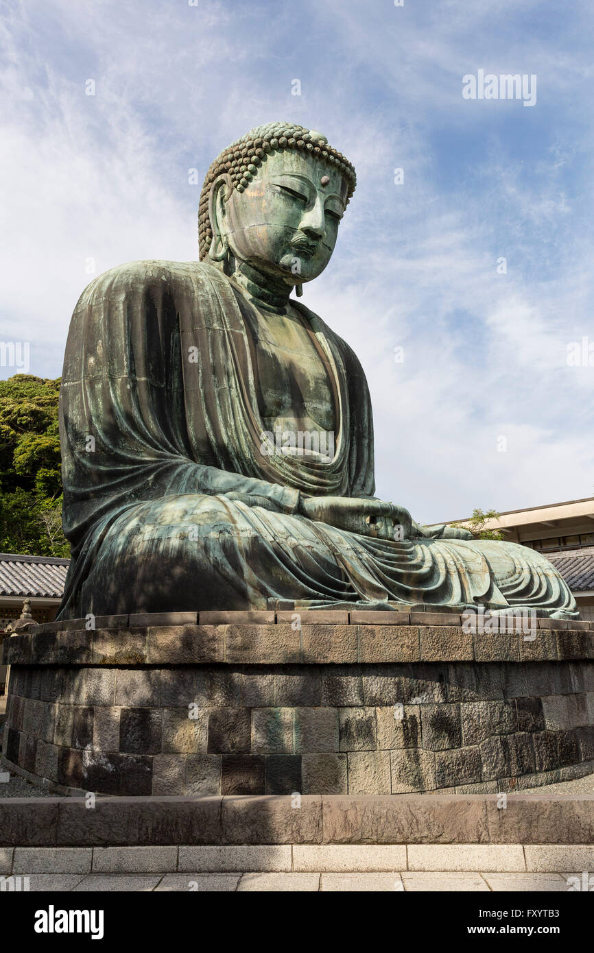 Kamakura Daibutsu, Kanagawa Prefecture Japan. - Stock Image