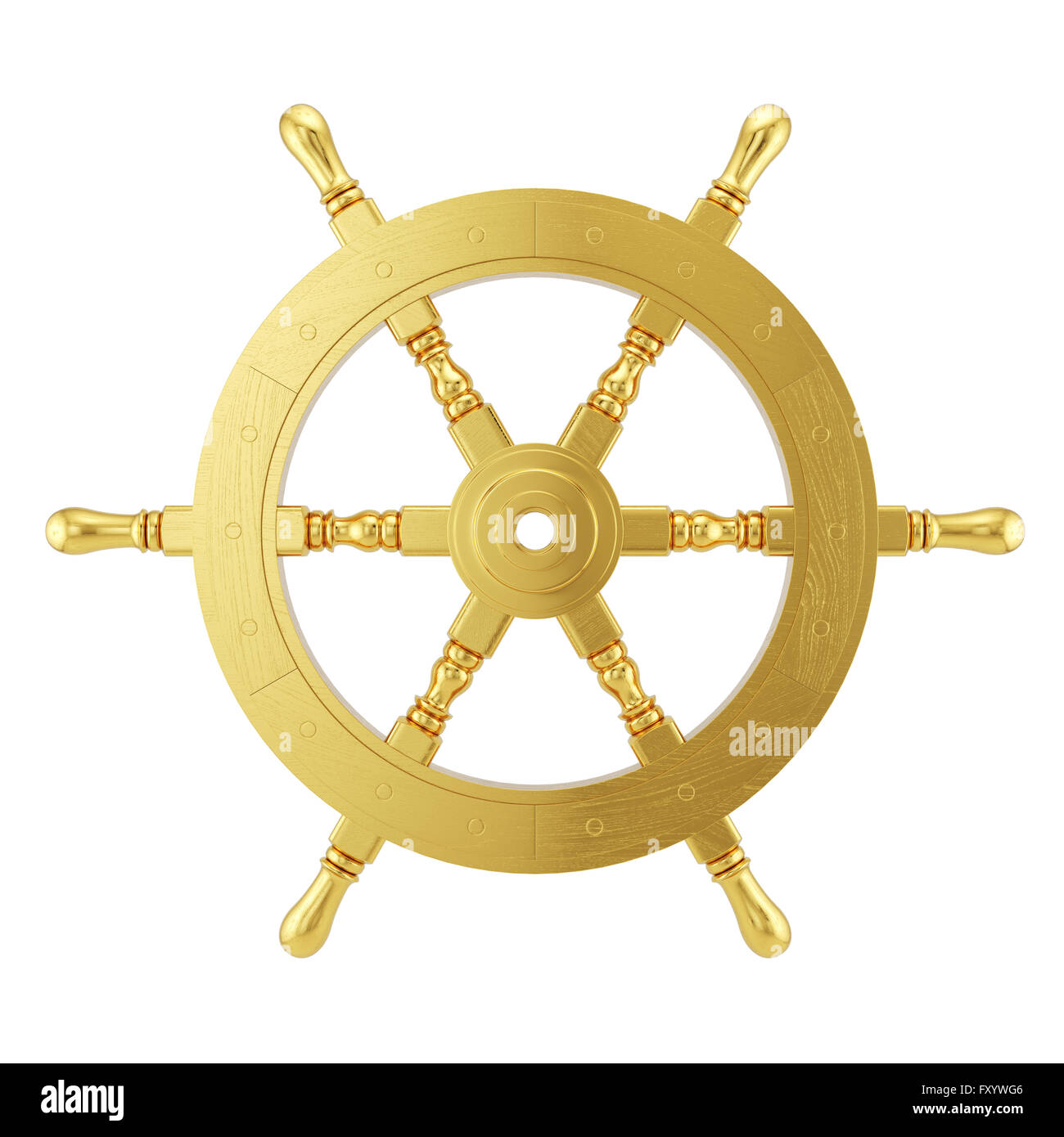 Ship Wheel Cut Out Stock Images & Pictures - Alamy