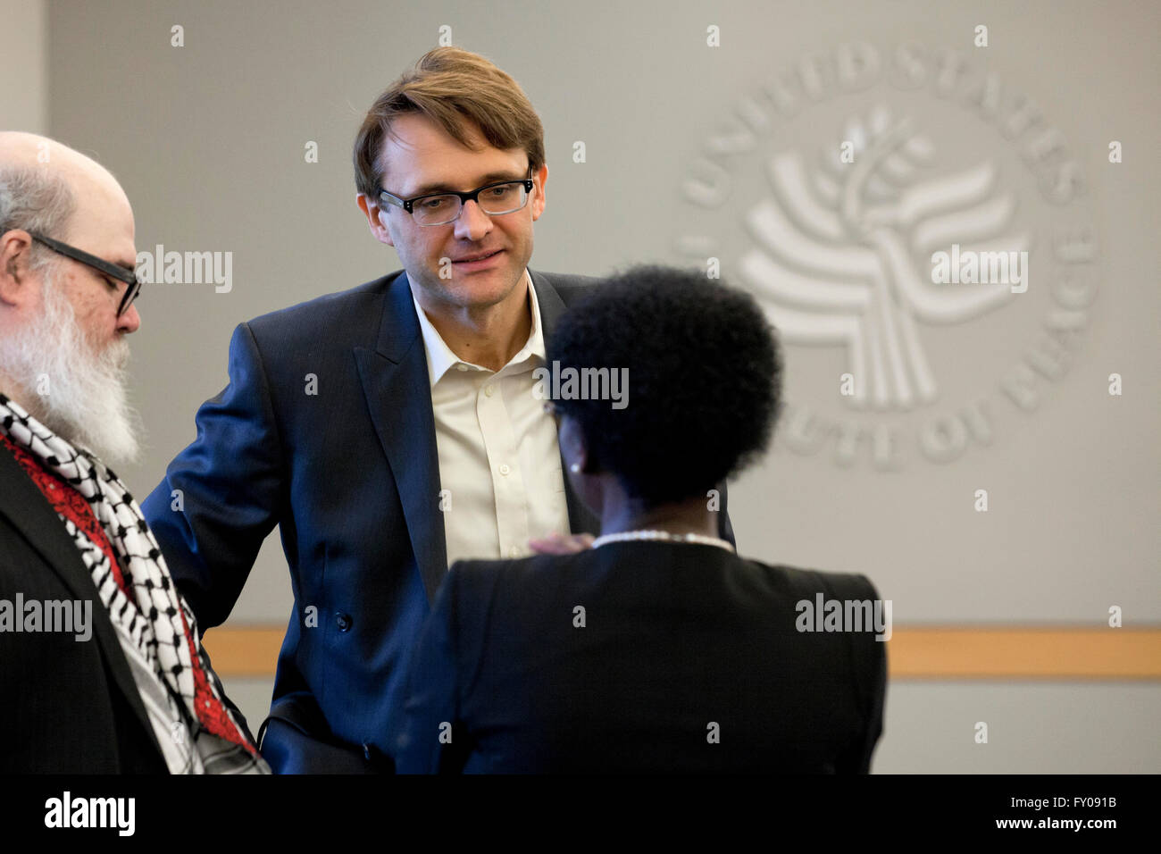 Maciej Bartkowski, scholar, educator, writer - April 04, 2016, Washington, DC USA - Stock Image