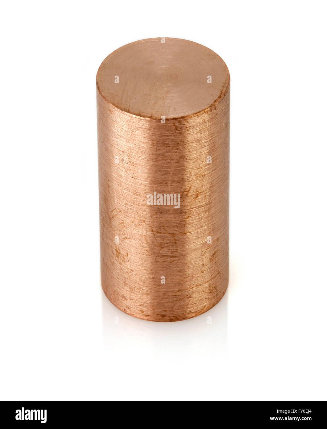 Copper Rod Silo - Stock Image