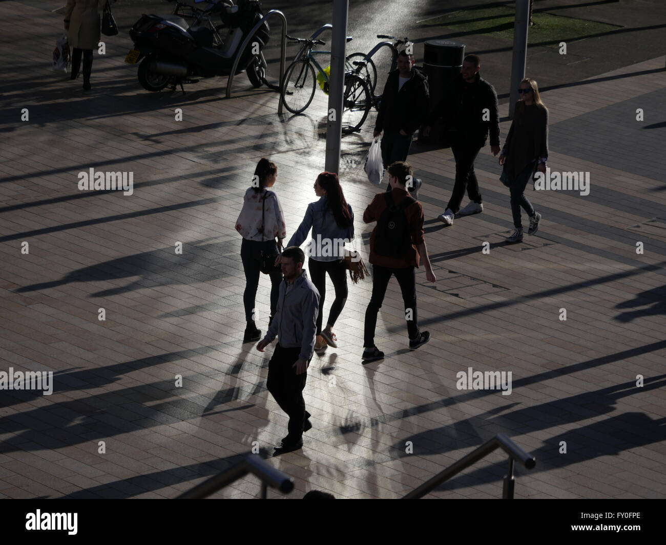 Shopping in Liverpool One England UK - Stock Image