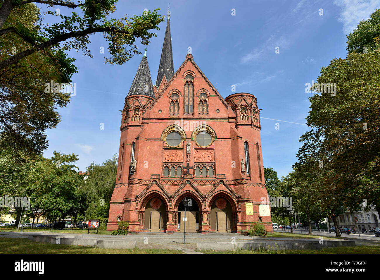 Bemerkenswert Baumarkt Berlin Schöneberg Das Beste Von Luther-kirche, Dennewitzplatz, Schoeneberg, Berlin, Deutschland - Stock