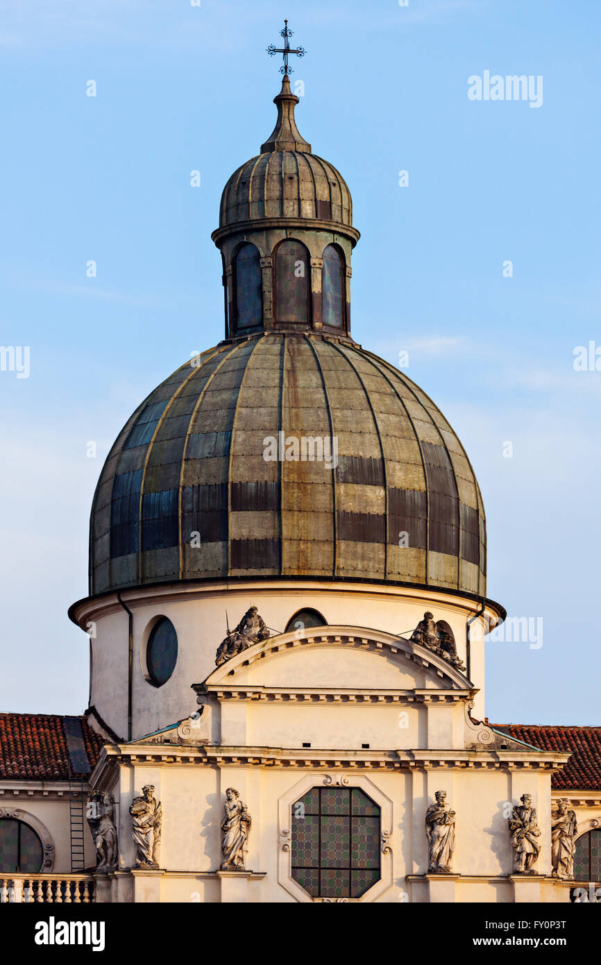 Basilica di Monte Berico in Vicenza - Stock Image