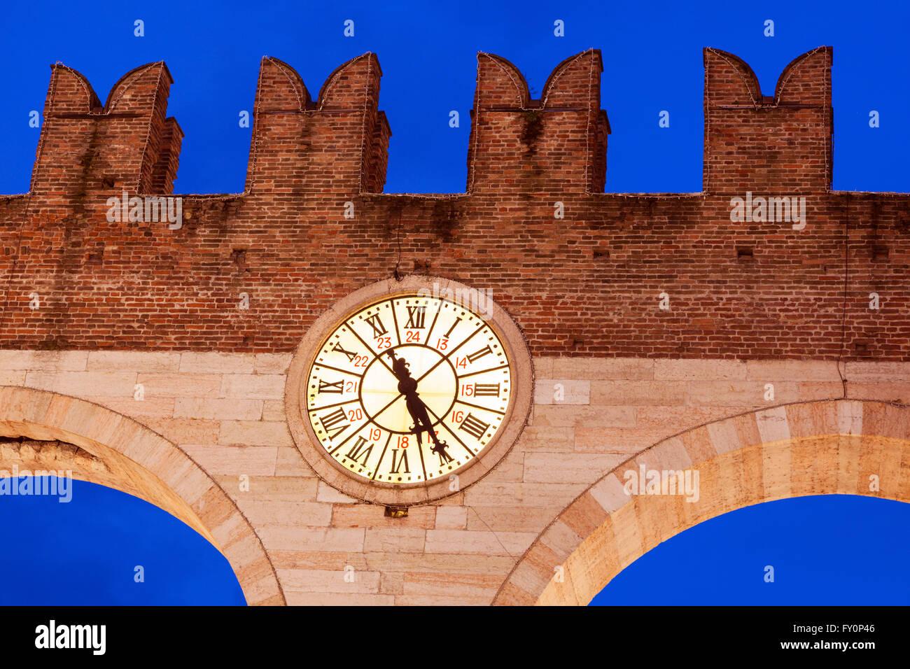 Bra Gate in Verona - Stock Image