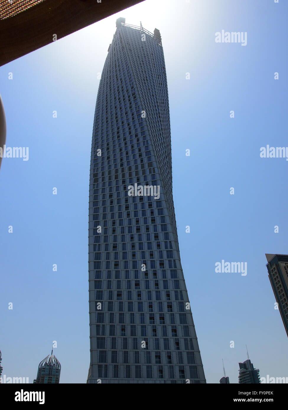 Cayan Tower, Dubai - Stock Image