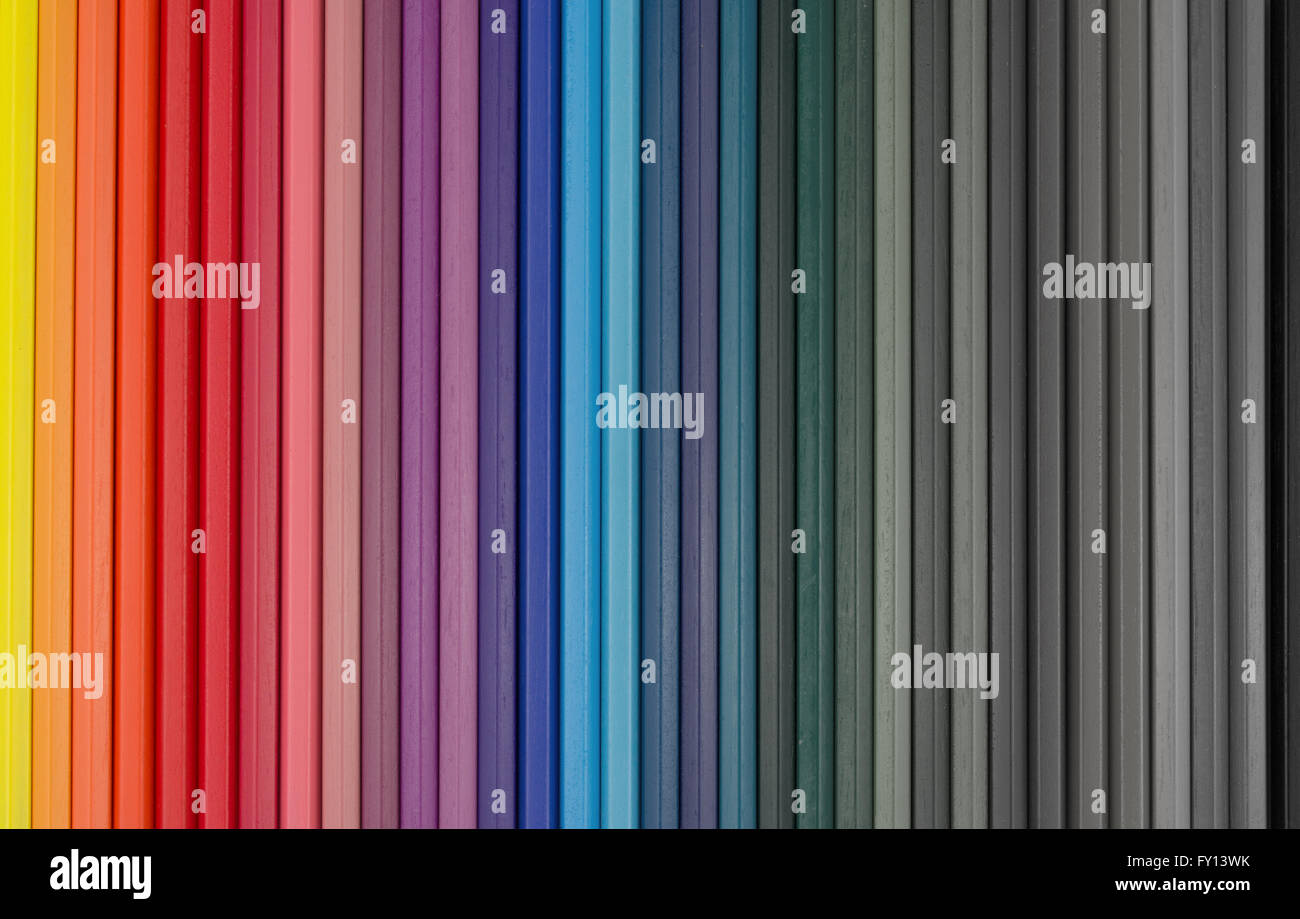 abstract color background - assorted colors fading out - Stock Image