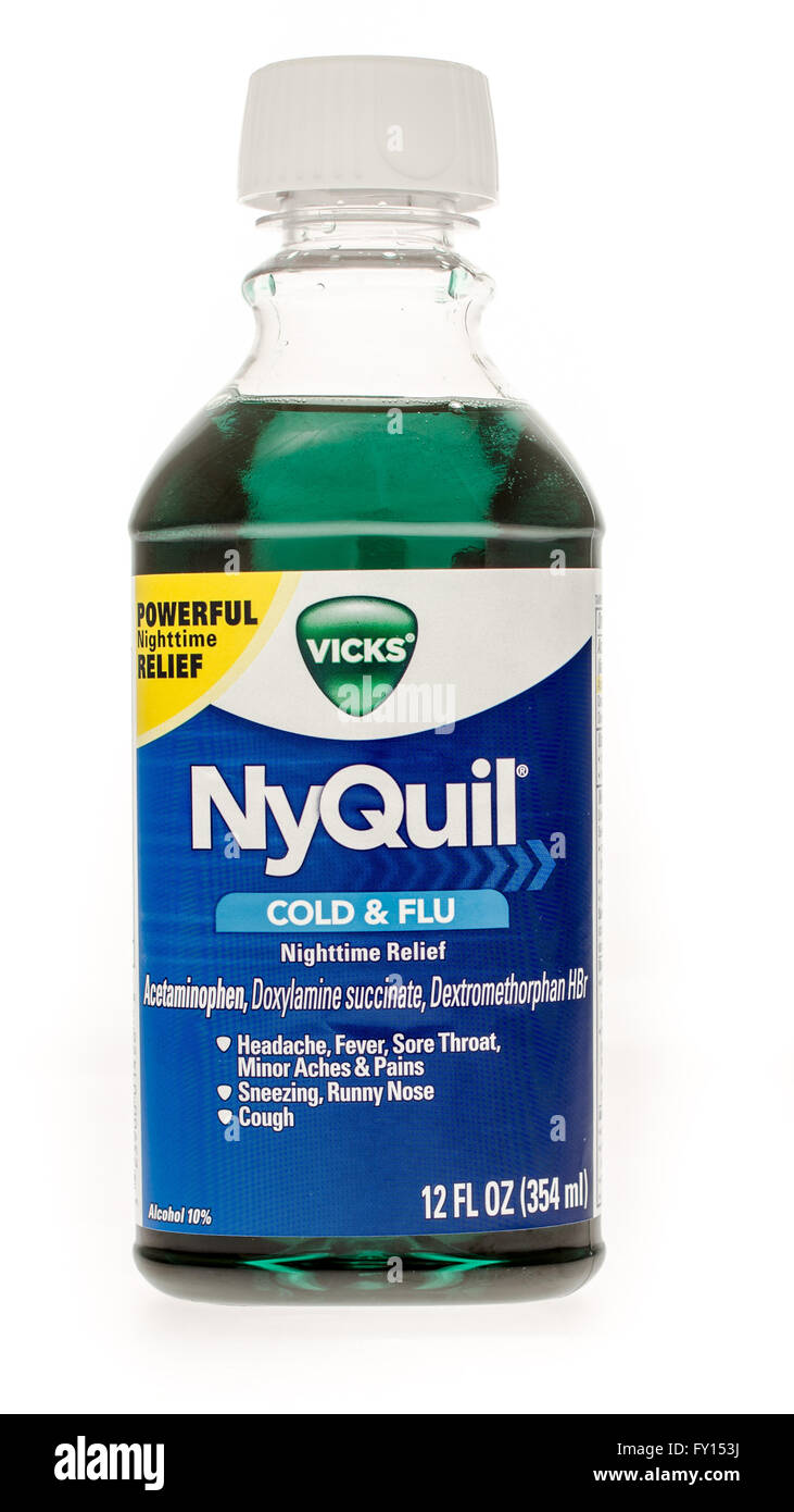 how much alcohol is in nightquil