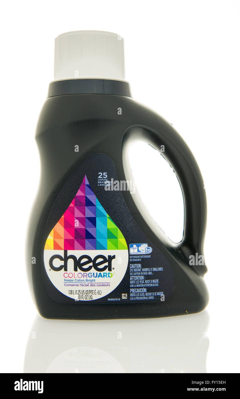 Winneconne, WI - 4 Feb 2016:  Bottle of Cheer laundry detergent. - Stock Image