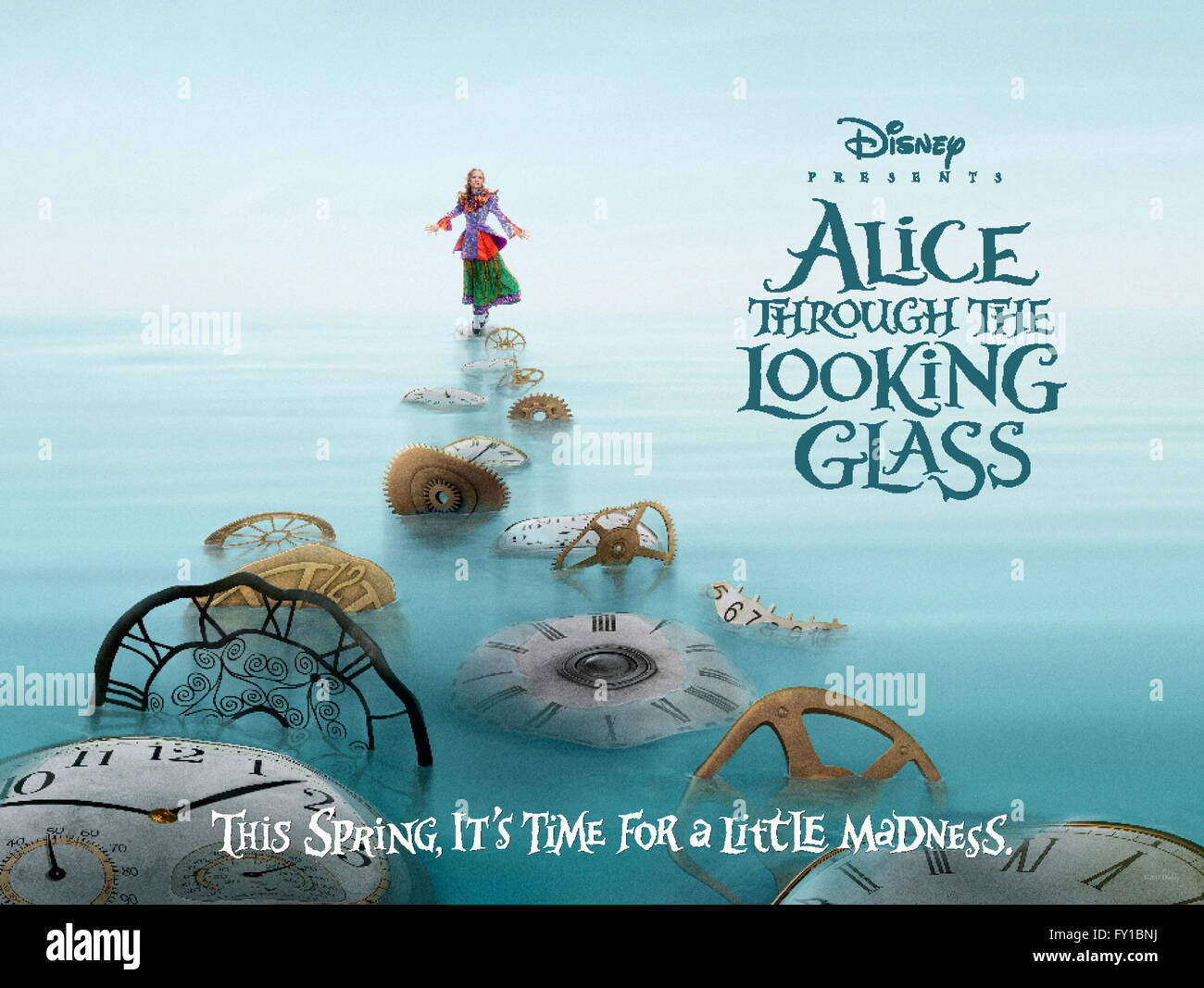 Alice Through The Looking Glass Release Date On Dvd