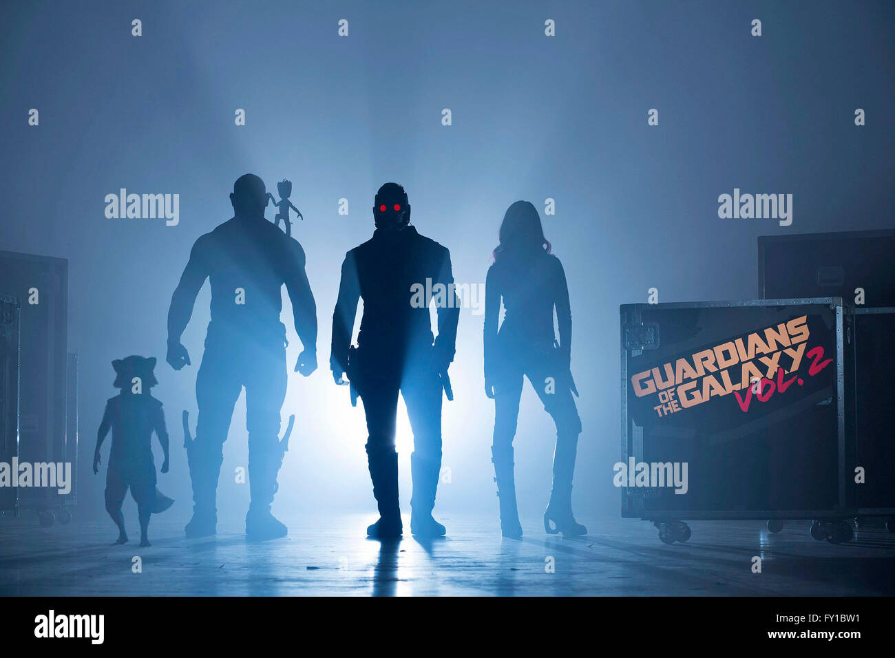 RELEASE DATE: May 5, 2017 TITLE: Guardians Of The Galaxy Vol. 2 STUDIO: Marvel DIRECTOR: James Gunn PLOT: Set to - Stock Image