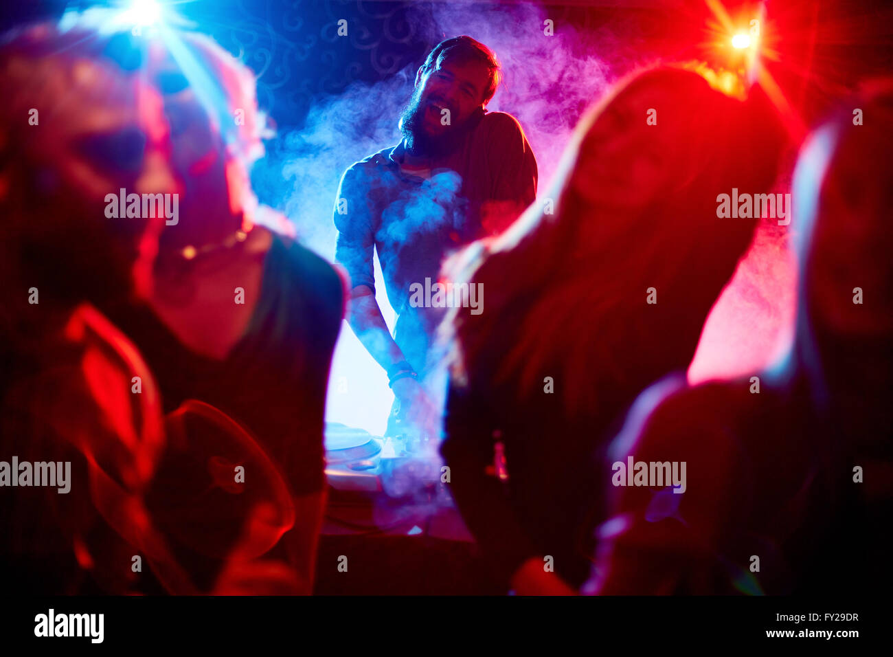 Cool disco - Stock Image