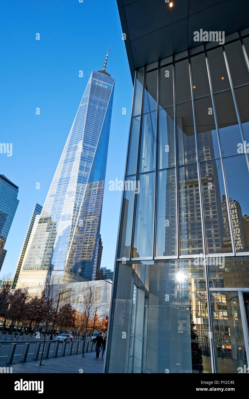 New World Financial Center. New York - Stock Image
