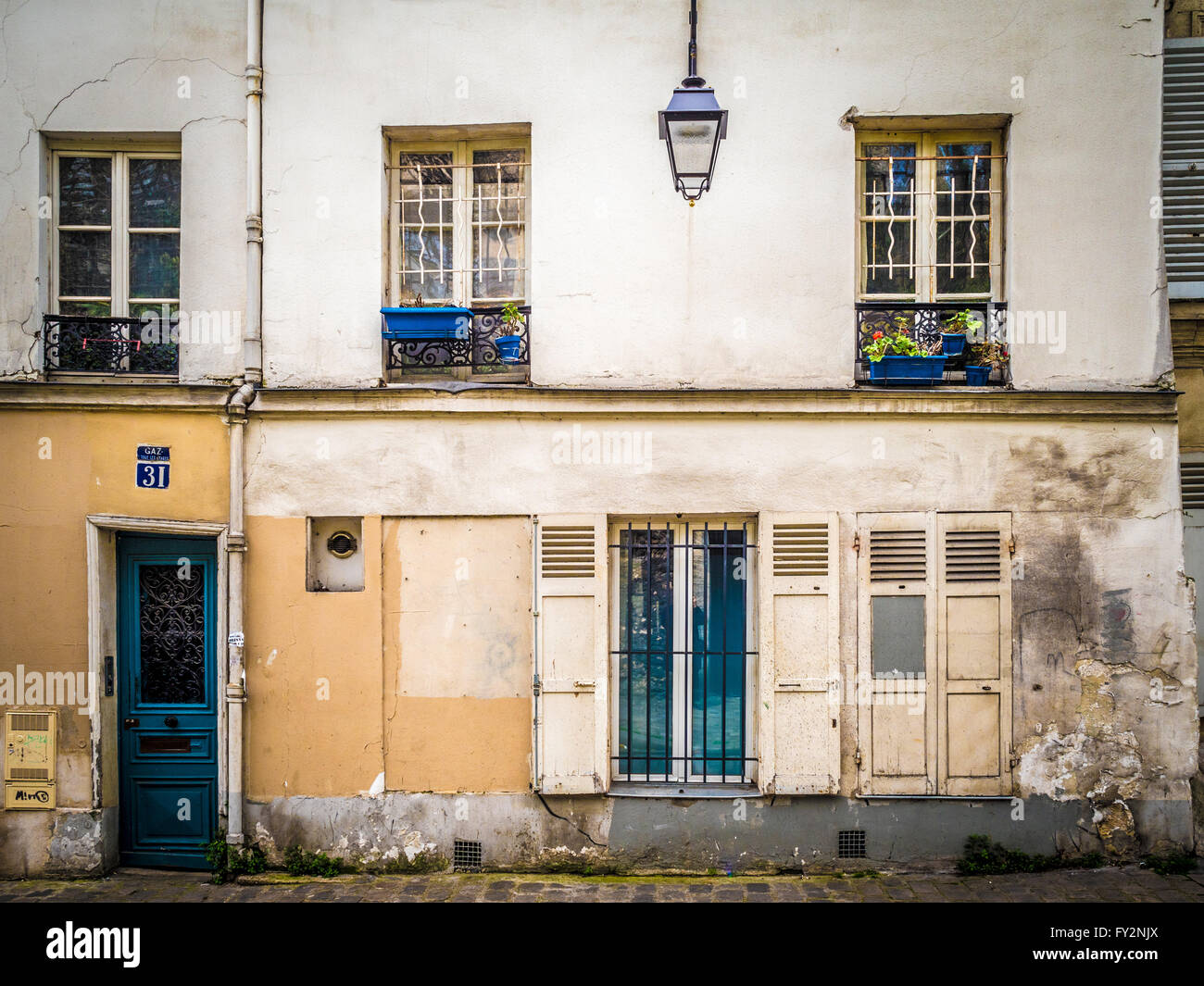 Traditional building, Paris, France - Stock Image