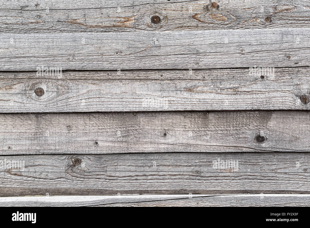 Old wooden planks. Picture of wooden structure. - Stock Image