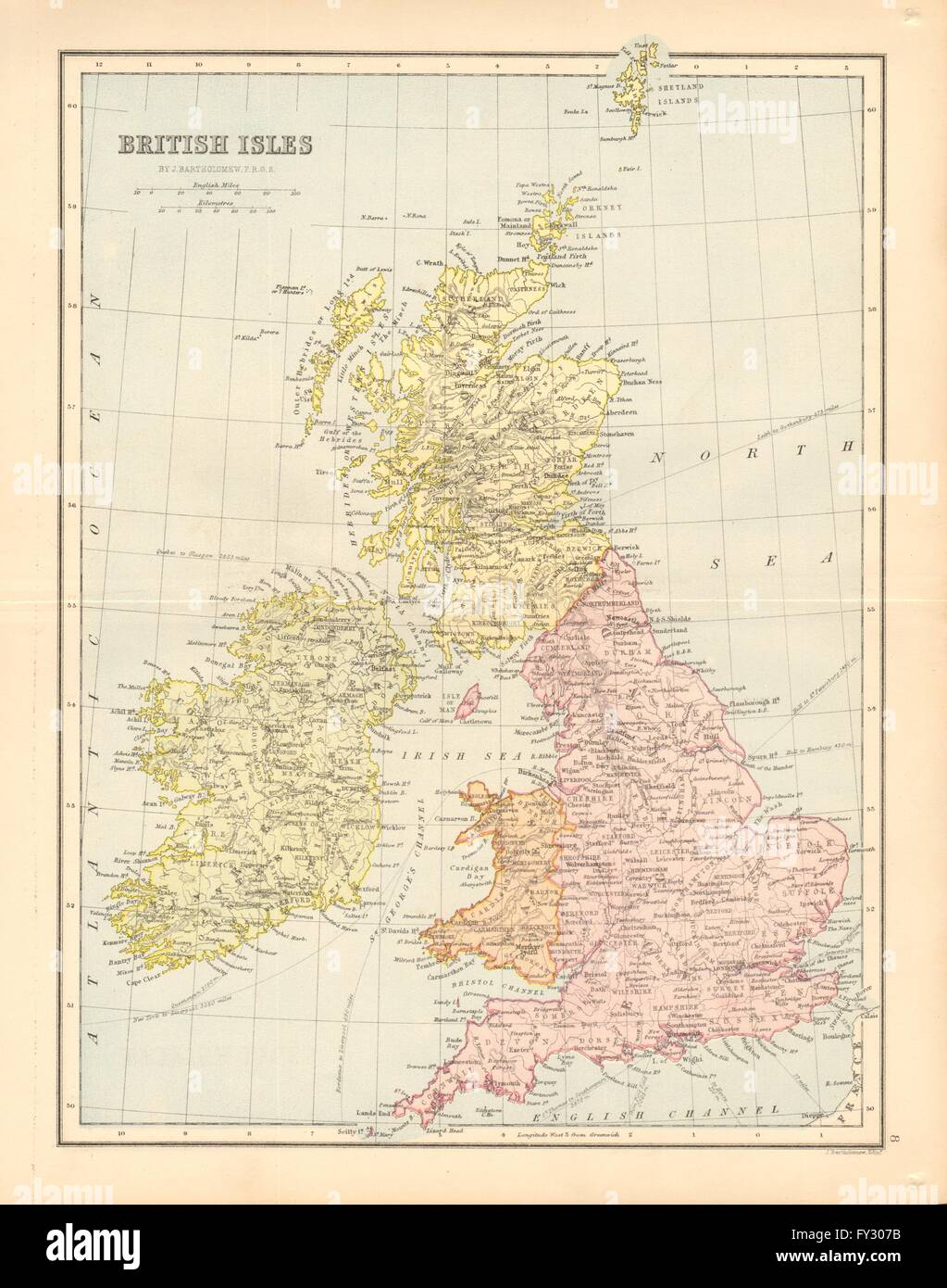 Map Of England Ireland Scotland Wales.England Ireland Scotland Wales Map Stock Photos England Ireland