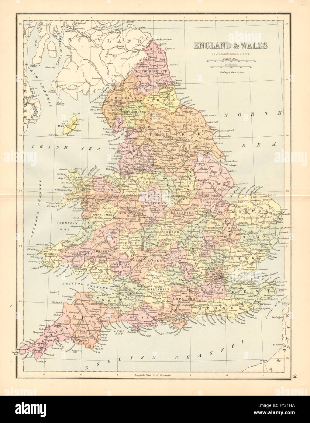 Map Of Counties In England.Great Britain Map Counties Stock Photos Great Britain Map Counties