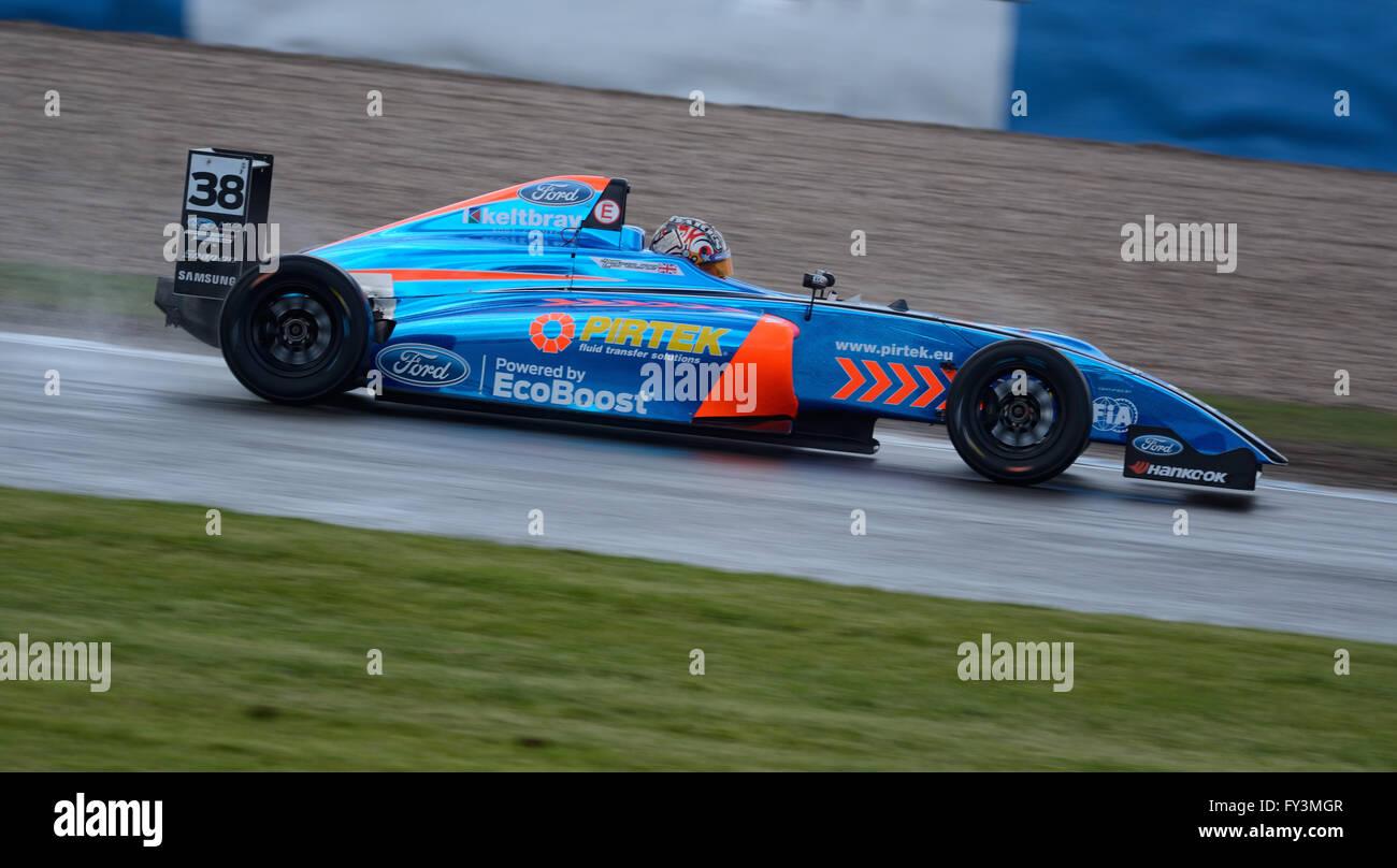 Jamie Caroline MSA Formula  Donington Park 2016 - Stock Image