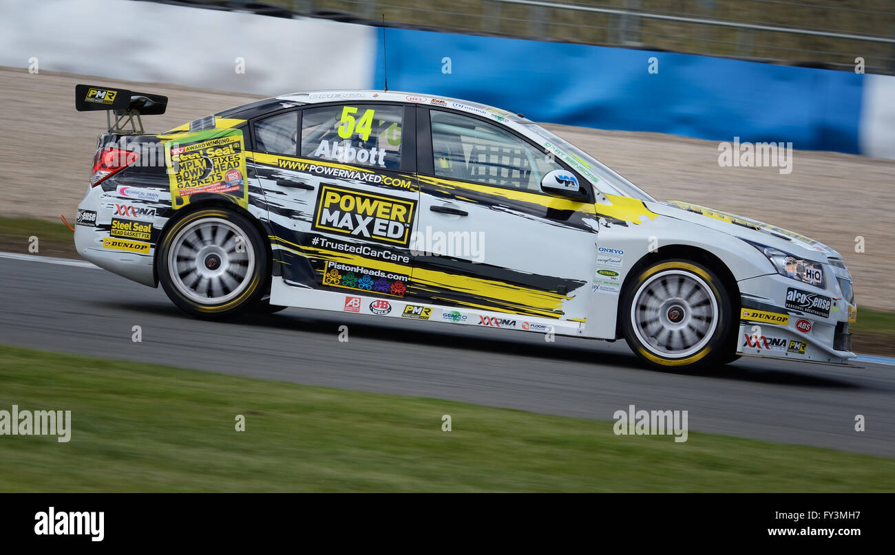 Hunter Abbott  Dunlop MSA British Touring Car Championship, Donington Park 2016 - Stock Image