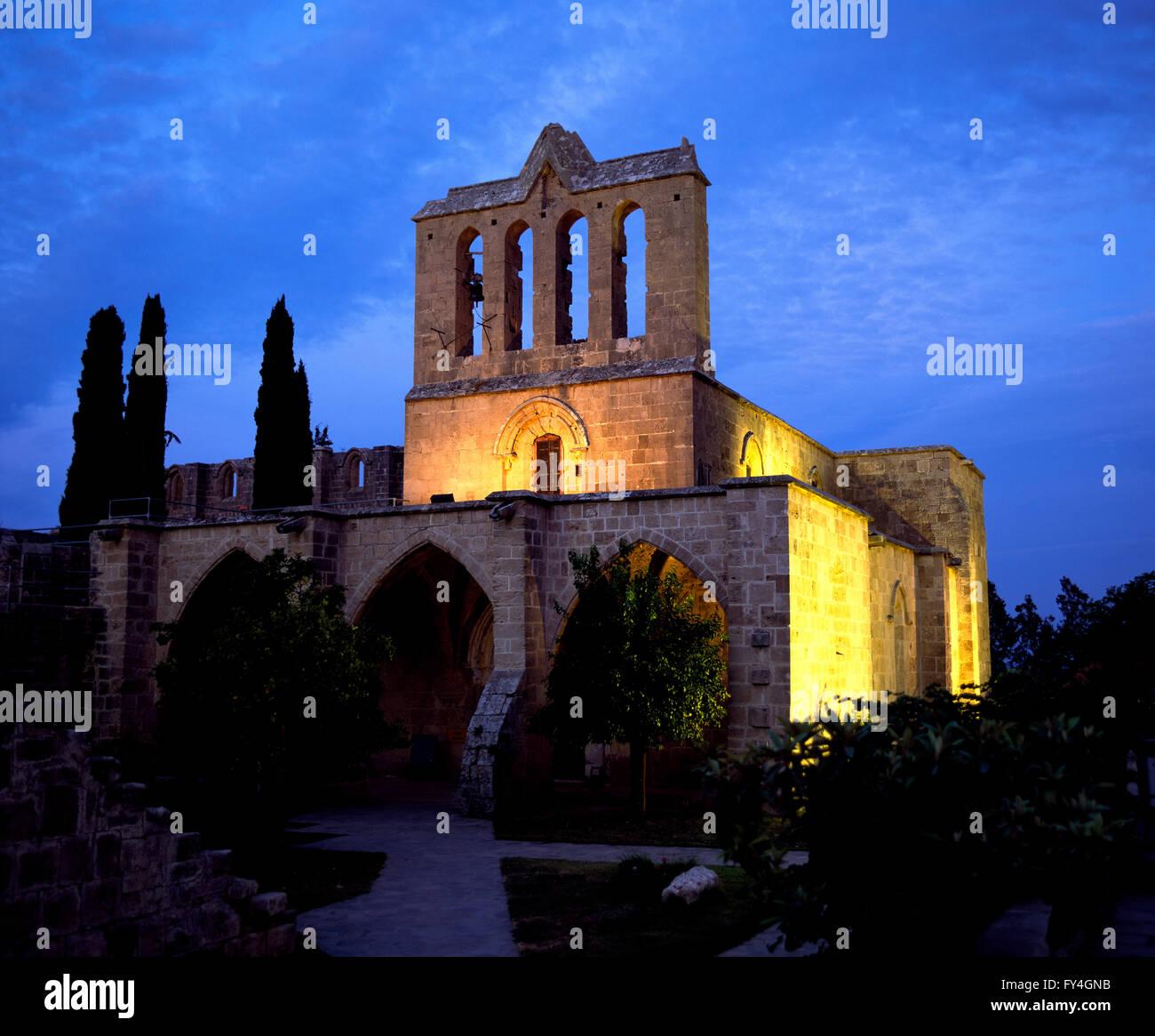Salamis, Bellapais Monastery, North CYPRUS, Europe - Stock Image