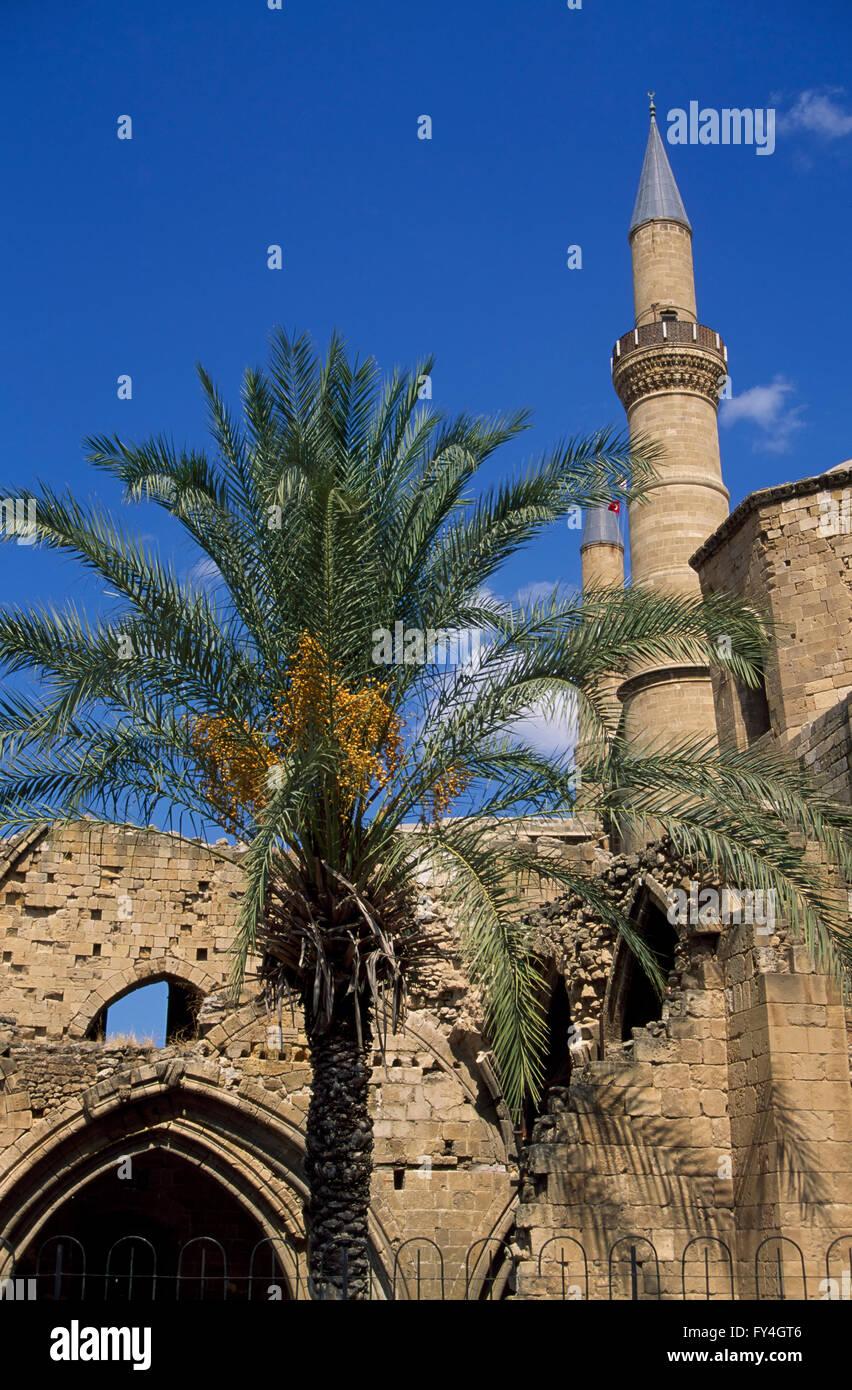 Nicosia, Selimiye Mosque North CYPRUS, Europe - Stock Image