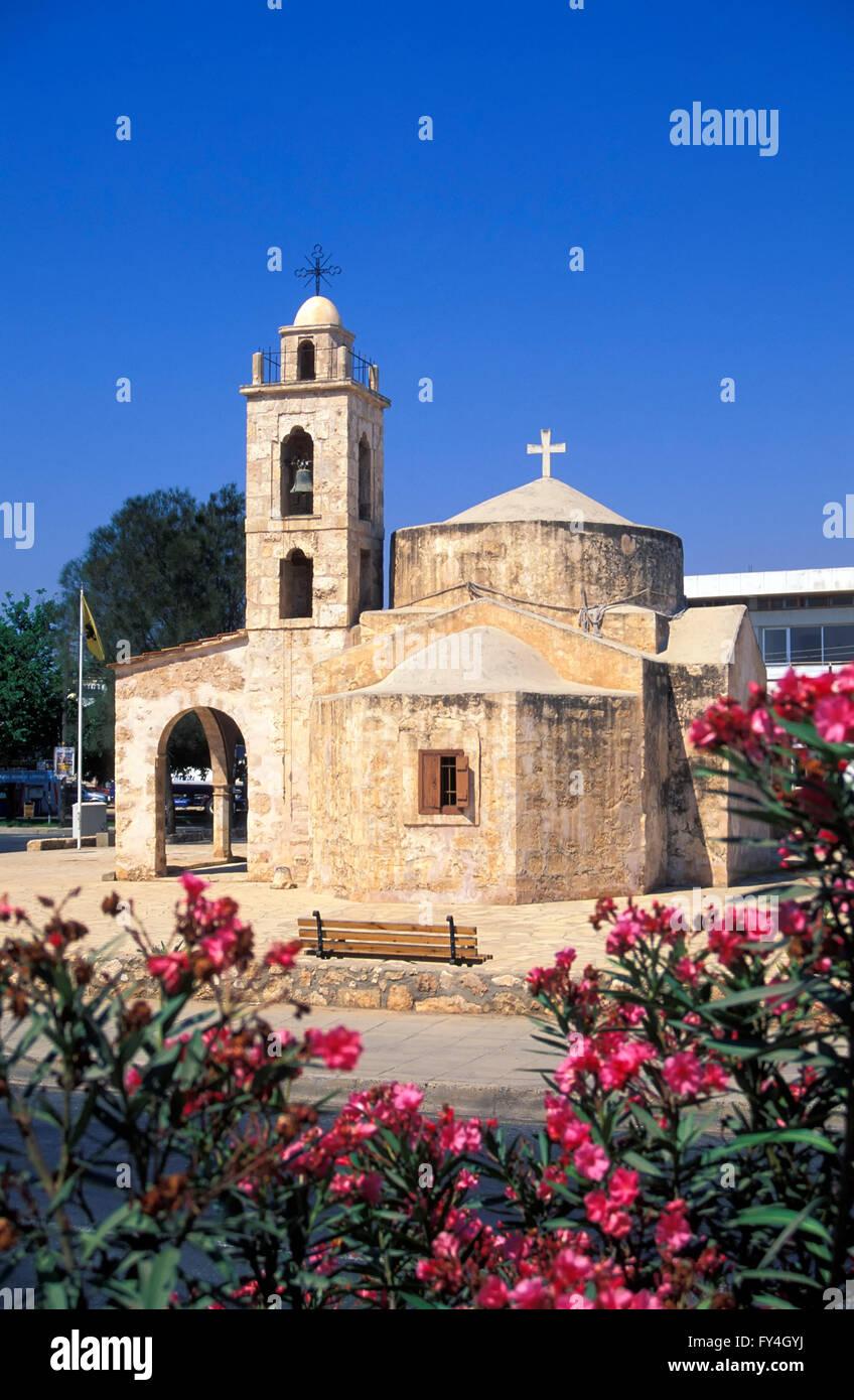 Agios Andronikos church, South CYPRUS, Europe - Stock Image