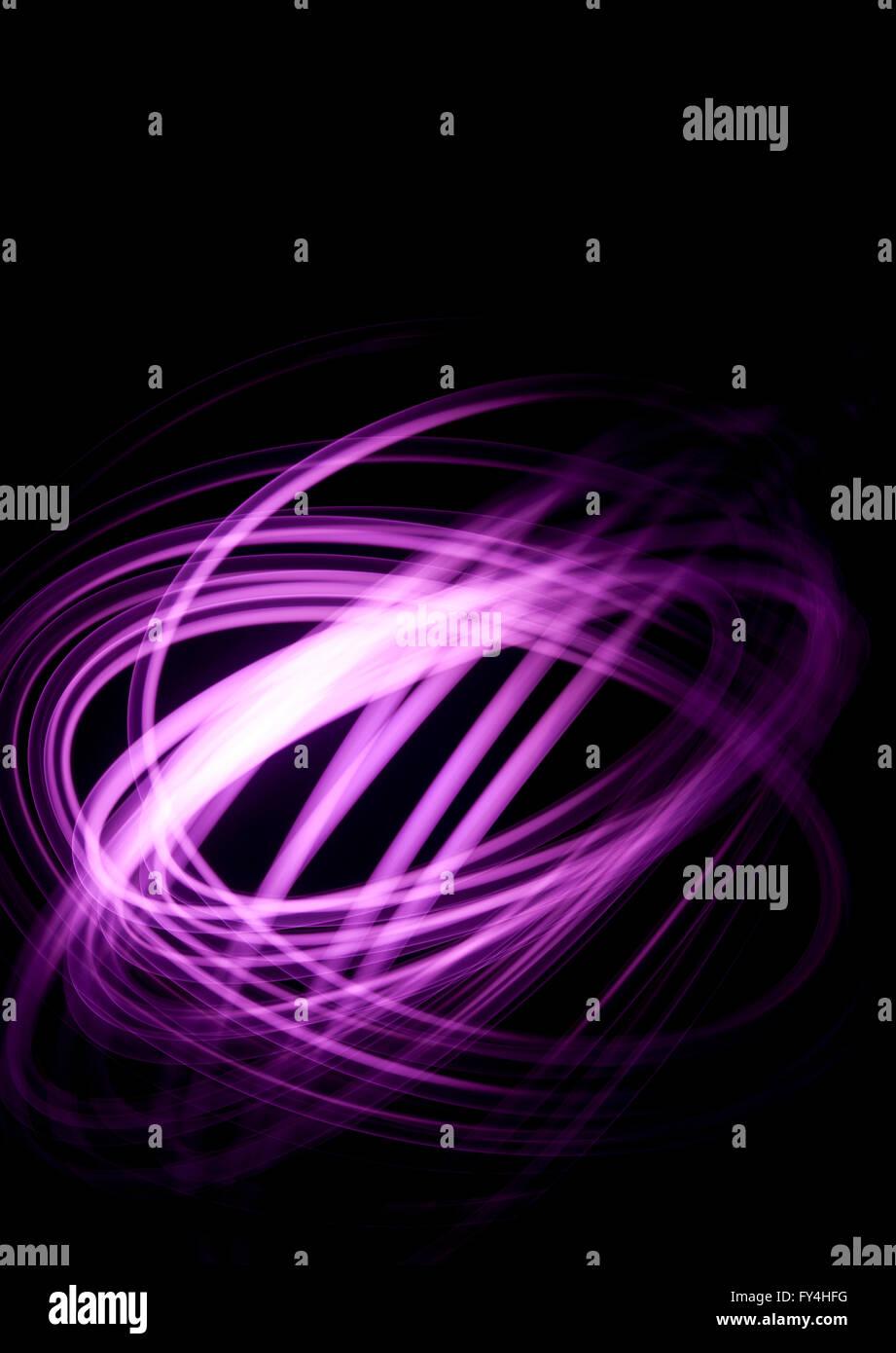 A purple Physiogram - Stock Image
